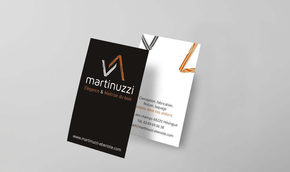 Cartes de visite Martinuzzi
