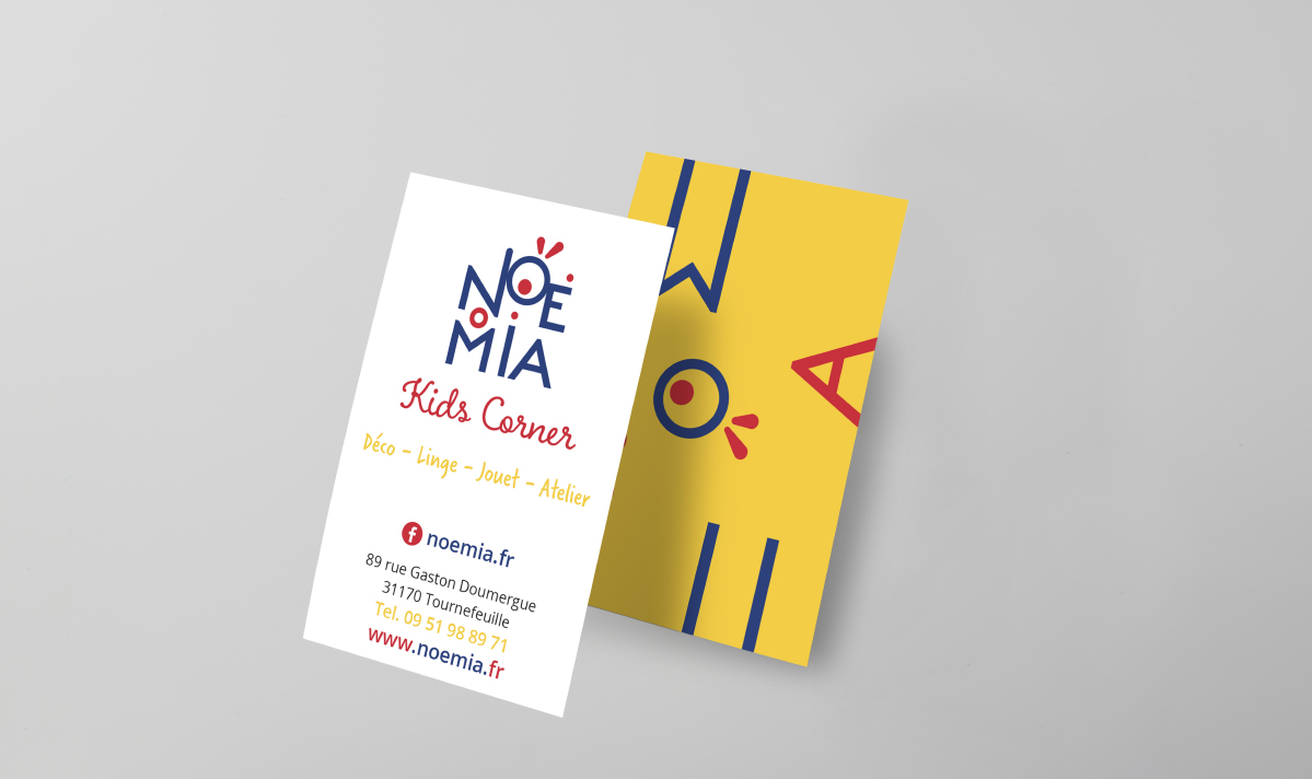 Cartes de visite Noemia