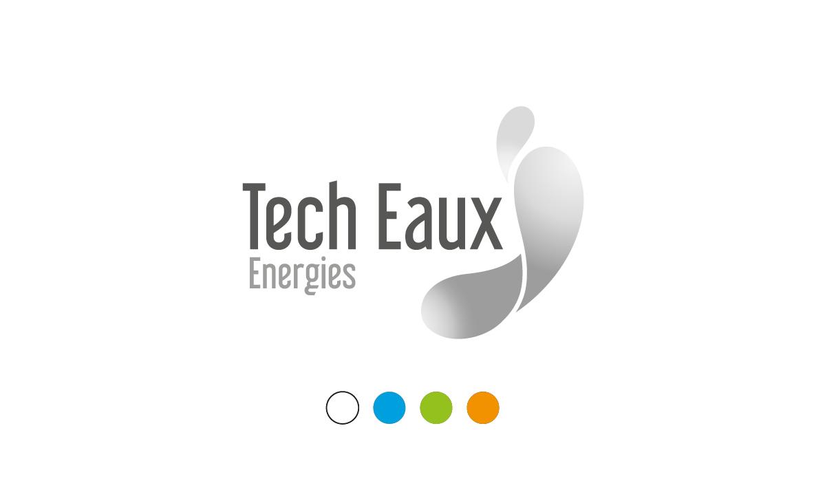 Logo Noir & Blanc Tech Eaux Energies Noir & Blanc