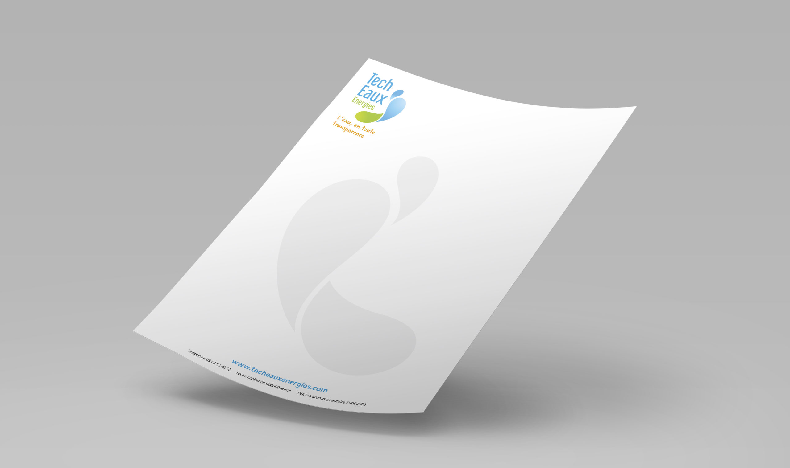 Papier à en-tête Tech Eaux Energies