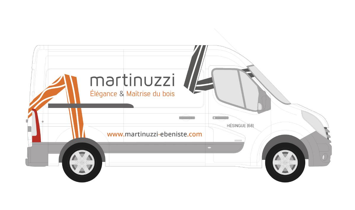 Habillage de véhicule Martinuzzi