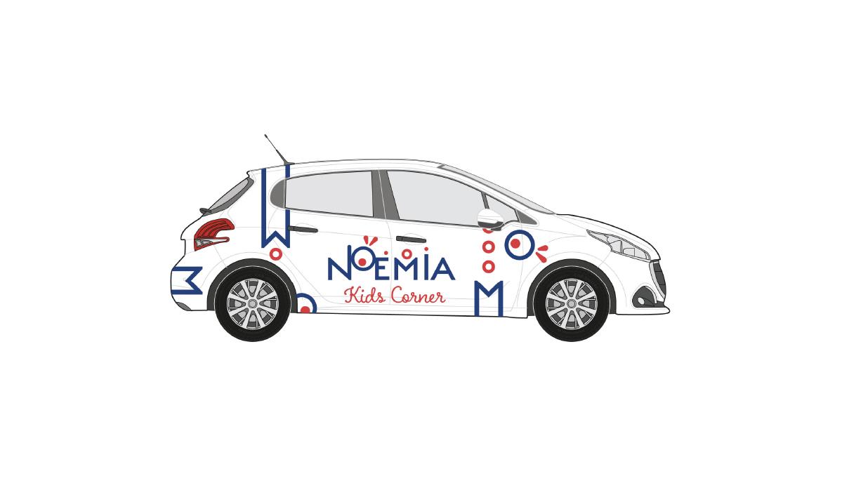 Habillage de véhicule Noemia