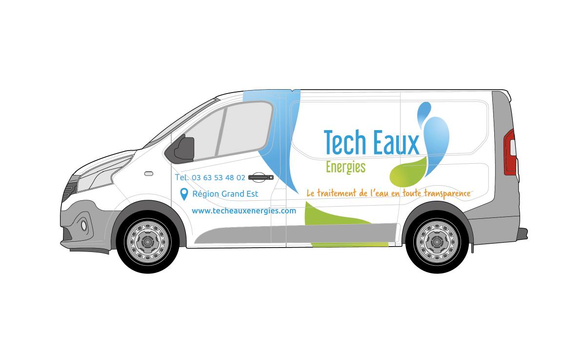 Habillage de véhicule Tech Eaux Energies